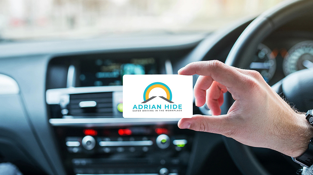 Adrian Hide Consultancy rebrand - business card